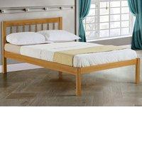 Solid Pine Wooden Bed Frame 3ft Single Santos Antique