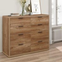 Stockwell Rustic Oak Wooden Merchant Chest