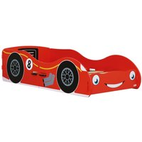 Red Racing Car Children's Toddler Bed Frame - 70 x 140 cm