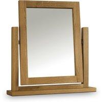 Marlborough Oak Dressing Table Mirror - 50 x 53 cm