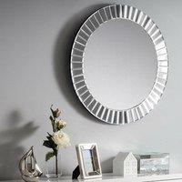Sonata Round Glass Wall Mirror - 60 cm