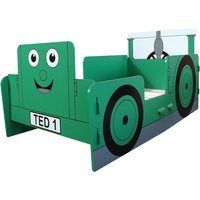 Tractor Ted Green Junior Toddler Bed Frame - 70 x 140 cm