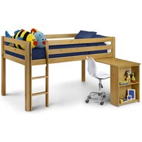 Wendy Solid Pine Wooden Mid Sleeper Frame Only - 3ft Single