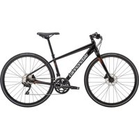 2019 Cannondale Quick 1 Mens Flat Bar Hybrid in Black