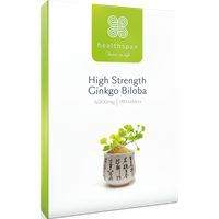 High Strength Ginkgo Biloba 6,000mg - 180 tablets