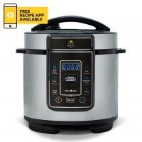 'Pressure King Pro (3l) Chrome – 8-in-1 Digital Pressure Cooker