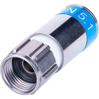 Cabelcon F-56-CX3 5.1 HP - blau - F-Stecker RG6 Compression