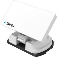 Selfsat SNIPE V3 - White Line - Single - Vollautomatische Satelliten Antenne