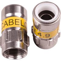 Cabelcon F-56 4.9 Self Install F-Kompressionsstecker