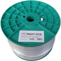 Venton Koaxial Sat Kabel RG6T-CCS 100dB 2-fach geschirmt High Quality