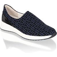 Högl Textil Sportiver Slipper blau