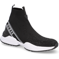 GUESS Textil Sportiver Slipper schwarz