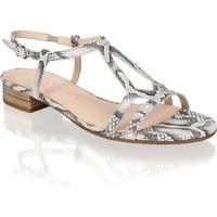 Gabor Glattleder Klassische Sandalen grau