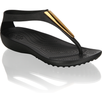 Crocs SERENA METALLIC BAR FLIP W schwarz
