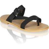 Crocs TULUM TOE POST SANDAL W schwarz
