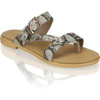 Crocs TULUM TOE POST SANDAL W beige