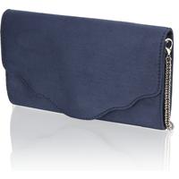 Minozzi Textil Clutch blau