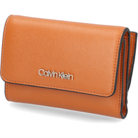 Calvin Klein TRIFOLD SM SAFFIANO braun