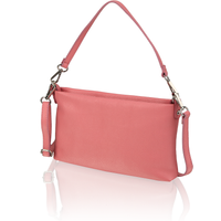 Lazzarini Glattleder Clutch pink