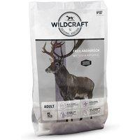 12 kg | Wildcraft | Freilandhirsch mit Süßkartoffel Gebacken | Trockenfutter | Hund