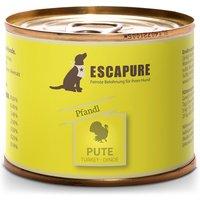 12 x 200 g | Escapure | Puten Pfandl Menü | Nassfutter | Hund