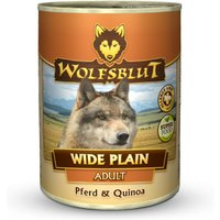 24 x 395 g | Wolfsblut | Wide Plain Quinoa Adult | Nassfutter | Hund
