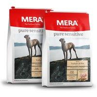 2 x 12,5 kg | Mera | Adult Truthahn & Reis Pure Sensitive | Trockenfutter | Hund
