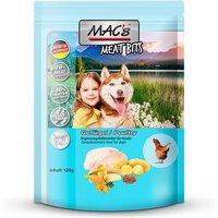 120 g | MACs | Geflügel DOG Meat Bits | Snack | Hund