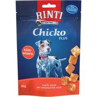 12 x 80 g   Rinti   Extra Chicko Plus Huhn und Käse Chicko   Snack   Hund