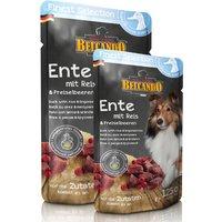 6 x 300 g | Belcando | Ente mit Reis & Preiselbeeren Finest Selection | Nassfutter | Hund