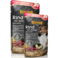6 x 125 g | Belcando | Rind mit Spätzle & Zucchini Finest Selection | Nassfutter | Hund