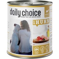 24 x 800 g | daily choice | mit Huhn | Nassfutter | Hund