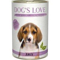24 x 200 g | Dog's Love | Lamm mit Kürbis und Kamille Junior | Nassfutter | Hund