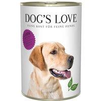 24 x 400 g | Dog's Love | Lamm mit Kartoffel und Kürbis Classic | Nassfutter | Hund