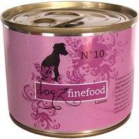 24 x 800 g | Dogz FineFood | No.10 Lamm Classic | Nassfutter | Hund