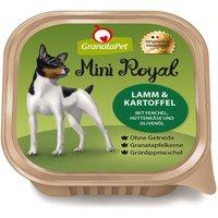 44 x 150 g | GranataPet | Lamm & Kartoffel mit Fenchel, Hüttenkäse und Olivenöl Mini Royal | Nassfutter | Hund