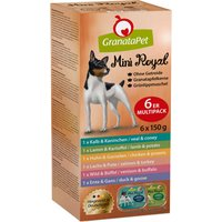 24 x 150 g | GranataPet | Multipack Mini Royal | Nassfutter | Hund