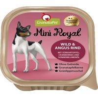 22 x 150 g | GranataPet | Wild & Angus, Süßkartoffel, Cranberry und Sonnenblumenöl Mini Royal | Nassfutter | Hund