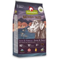 4 kg | GranataPet | Ente & Forelle Natural Taste | Trockenfutter | Hund