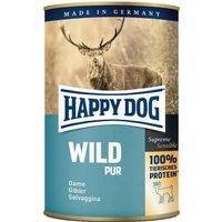 12 x 200 g | Happy Dog | Wild Pur Supreme Sensible | Nassfutter | Hund