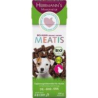 100 g | Herrmanns | Bio-Huhn Meatis | Snack | Hund