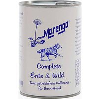 12 x 800 g | Marengo | Ente & Wild | Nassfutter | Hund