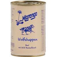 12 x 400 g | Marengo | Wolfshappen | Nassfutter | Hund