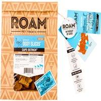 60 g | Roam Pet Treats | Strauß Kausnack Ossy Slices | Snack | Hund