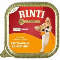 64 x 100 g   Rinti   Gold Mini Truthahn & Kaninchen Gold Mini   Nassfutter   Hund
