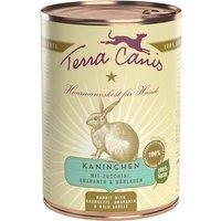 12 x 400 g | Terra Canis | Kaninchen mit Zucchini, Amaranth & Bärlauch Classic | Nassfutter | Hund