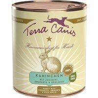 800 g | Terra Canis | Kaninchen mit Zucchini, Amaranth & Bärlauch Classic | Nassfutter | Hund