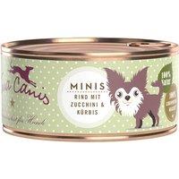 100 g | Terra Canis | Minis Rind Mini-Hunde | Nassfutter | Hund