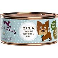 12 x 100 g | Terra Canis | Minis Lamm Mini-Hunde | Nassfutter | Hund