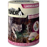 12 x 400 g | Tundra | Lachs & Huhn Dog | Nassfutter | Hund